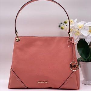 Michael Kors Nicole Shoulder Bag Peach